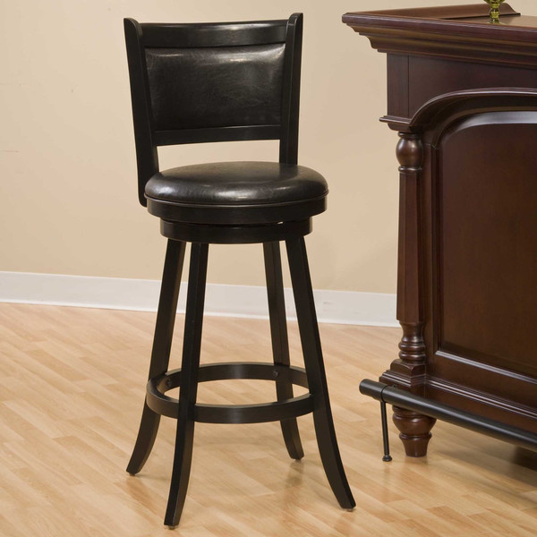 24 Swivel Bar Stool With Cushion 3649